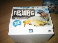 SET OF 10 DVDs MATT HAYES FISHING COLLECTION