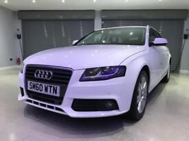 AUDI A4 2.0 AVANT TDI TECHNIK 5d 168 BHP FREE DELIVERY TO YOUR DOOR (white) 2011