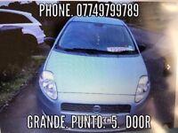 FIAT GRANDE PUNTO 1.2 BLUE 2006 £895