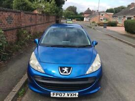 PEUGEOT 207 1.4 HDI SPORT - 11 MONTHS MOT, £30 TAX FOR THE YEAR,