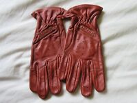 Rust Coloured gloves