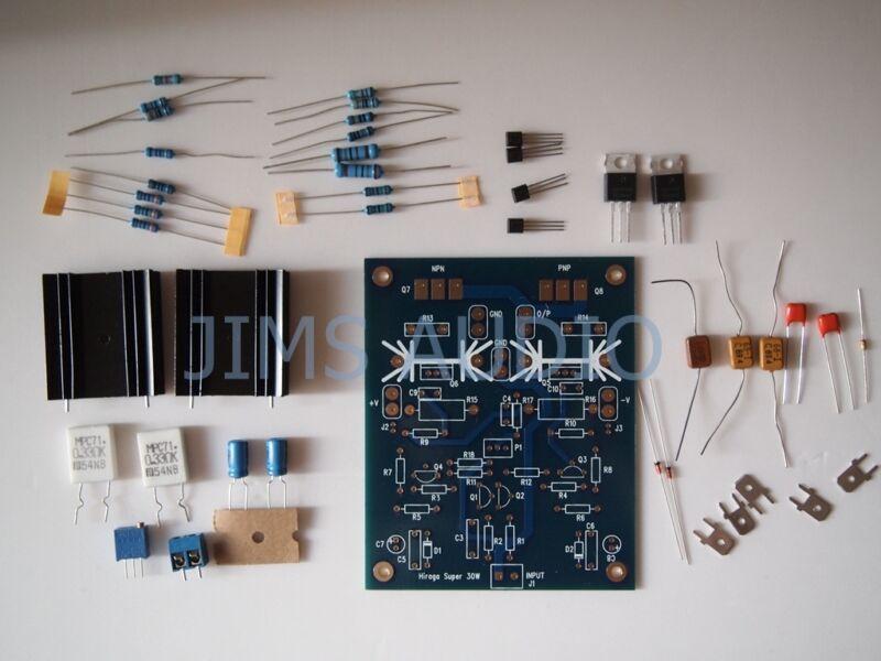 Hiraga super 30W class A amplifier kit !