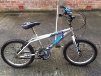 "Boys bicycle, frame size 11"", silver ""Falcon Revenge"". Great wee bike, well looked after. £25 ONO"