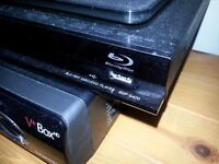 Sony BDP-S470 Blu-Ray / 3D / DVD Player Black w/ remote control