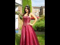 Prom dress from Tiffanys