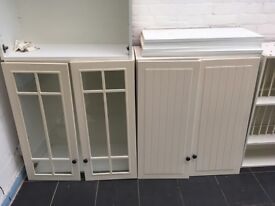 Four Ikea kitchen cabinets - good condition - offers - must go!