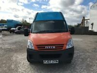 2007 iveco daily 2.3 hpi 35s12 mwb highroof van 1 owner van from new