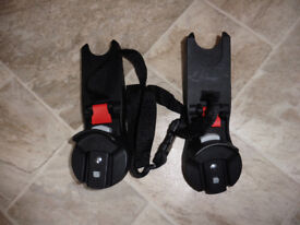 Baby jogger city select / versa maxi cosi adaptors