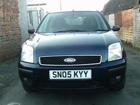 2005 05 FORD FUSION 1.6 5DR AUTOMATIC ** ONLY 55300 MILES ** MOT JANUARY 2018 **
