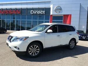 2015 Nissan Pathfinder SL 4WD, LEATHER, REMOTE STARTER