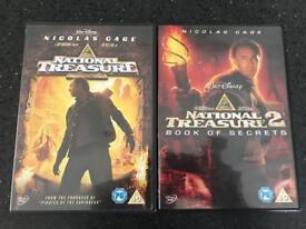 National Treasure & National Treasure 2 DVD