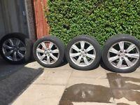 """Lexus/Toyota alloys 17"""" with tyres"""
