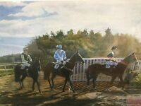 'Autumn campaigners' limited edition print 217/500 by AJ Dent