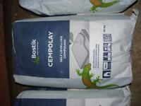 BOSTIK CEMPOLAY. SELF LEVELLING COMPOUND. 7 FULL BAGS.ONLY £65
