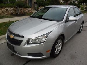 2012 Chevrolet Cruze LT TURBO, CERTIFIED, NO ACCIDENTS, LOW KMS