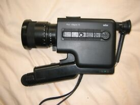 Braun Nizo Integral 10 Super 8 Sound camera