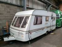 Swift challenger 5 birth caravan with awning