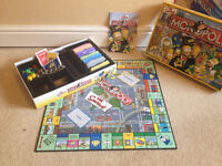The Simpsons - Board Game Bundle! Monopoly, Scrabble, Scene-It **Christmas**
