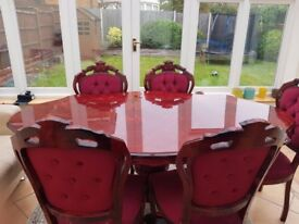 Dining Table including 5 chairs - £250 - Pickup only