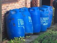 FREE - Water barrels