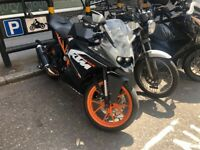 KTM RC 125 | 5500 MILES | CUSTOM EXHAUST | HPI CLEAR