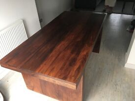 Solid oak dining table £100 ono