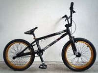 "(2223) 20"" 20.25""TT VOODOO BMX STUNT BIKE BICYCLE; Age: 9+ Height: 136-173cm"