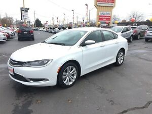 2015 CHRYSLER 200 LIMITED- HEATED SEATS, U-CONNECT, BLUETOOTH, S