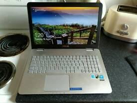 "ASUS N551JX 15.6"" IPS Gaming Laptop i5-4200H, 16GB RAM, 1TB +128GB SSD GTX 950"