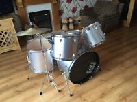 Used full drum kit with seat and sticks
