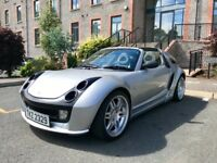 Smart Brabus Roadster Coupe.