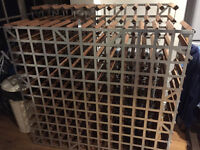 Traditional Wine Rack for sale (used)