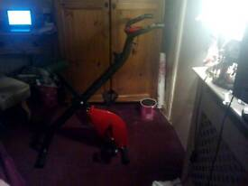 Red Magnetic Exercise Bike