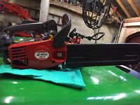 Efco chainsaw never been used