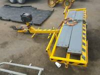 Car transport trailer recovery towing dolly tow