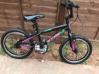 Bike bmx girls 18 inch wheels size