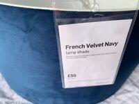 Habitat Blue Velvet Shade (RRP £50)