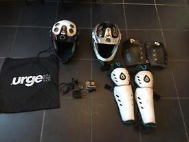 Various riding gear
