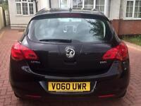 VAUXHALL ASTRA EXCLUSIV, 1.7 DIESEL, 2010/60, NEW CAMBELT, £30 TAX, IMMACULATE, AUX, BLACK!