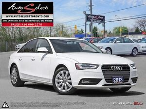 2013 Audi A4 Quattro AWD ONLY 77K! **LED LIGHTING PKG** CLEAN...