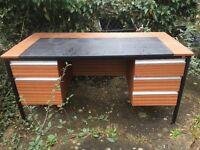 Large Desk with drawer storage.