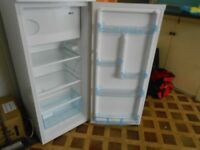 Brand New LEC White Fridge with small freezer compartment