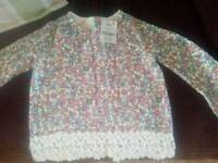 Bnwt next age 3-4 top
