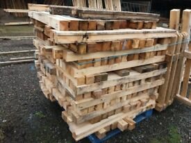 "Timber for sale 3"" x 3"" x 4ft lengths 50 pence per length"