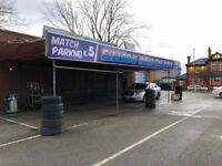 Hand Car Wash Valeting Business For Sale - Manchester City FC Car Park - Large Land - Busy Main Road