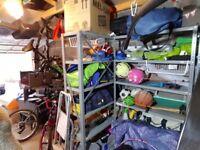 Metal garage storage rack