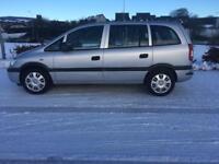 Vauxhall zafira 1.6 life 7 seater stunning car