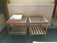 Pair of side tables - MUST GO THIS WEEKEND