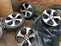Golf Gti 5x112 Performance pack alloys wheels