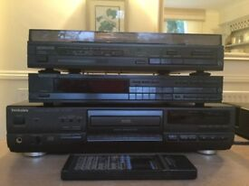 TECHNICS CD PLAYER/KENWOOD TUNER AND TURNTABLE